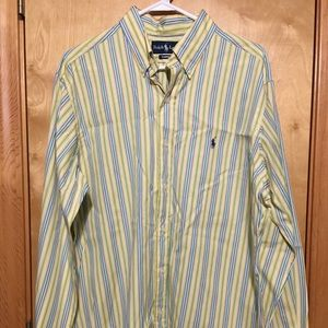 Ralph Lauren Long Sleeve Button Up Dress Shirt - L